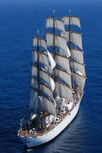 Nave alta Fragata Libertad
