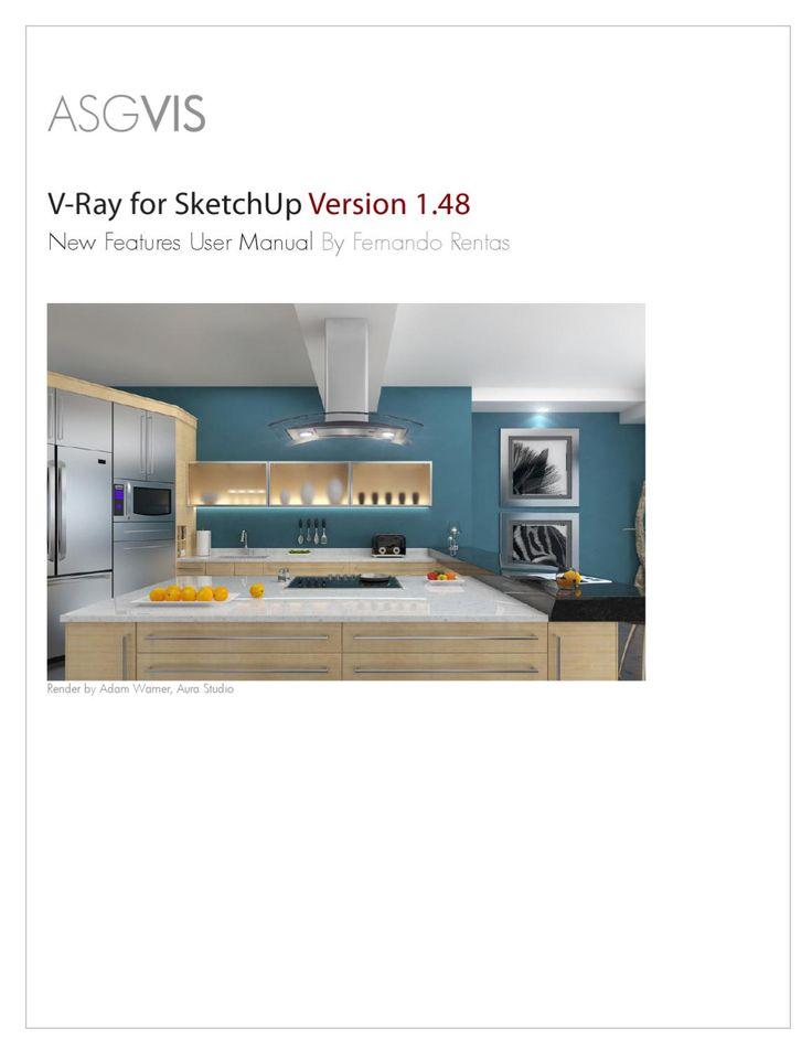 V-ray for Sketchup  Manual de Vray 1.48 para Sketchup en ingles