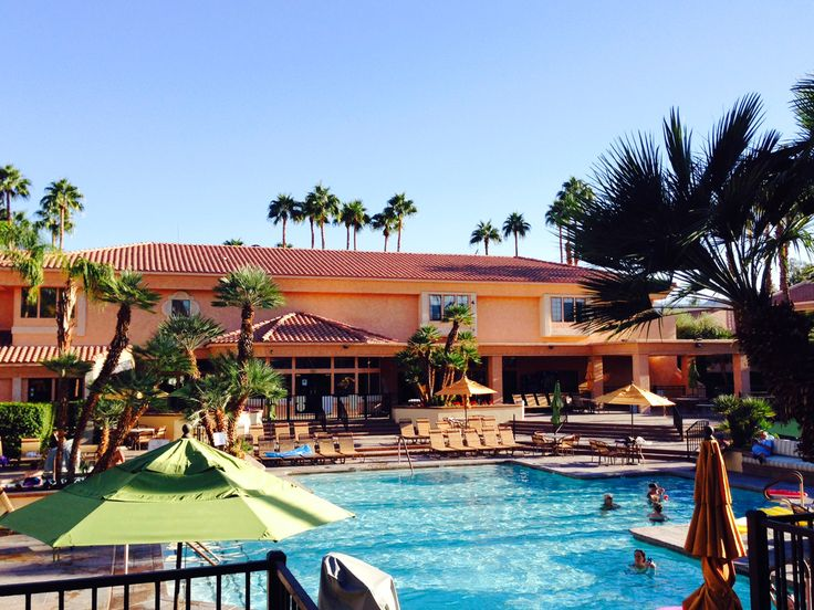 Our Beautiful Swimming Pool Here At Welk Resort Palm