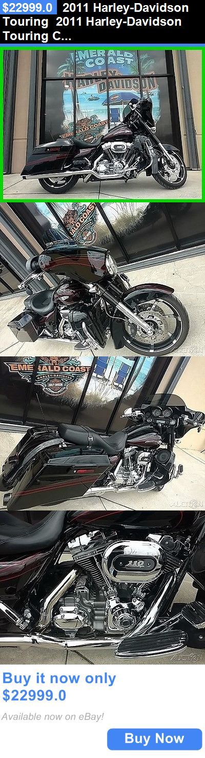 Motorcycles: 2011 Harley-Davidson Touring 2011 Harley-Davidson Touring Cvo Street Glide Flhxse2 Used BUY IT NOW ONLY: $22999.0