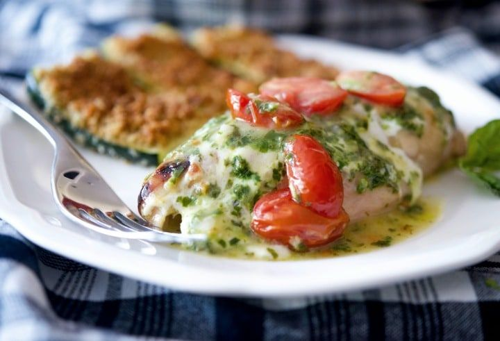 Chicken Margherita (Olive Garden Copycat) - Carrie's Experimental Kitchen