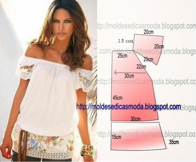 BLOUSE DO EASY - 38 ~ Templates Fashion by Measure