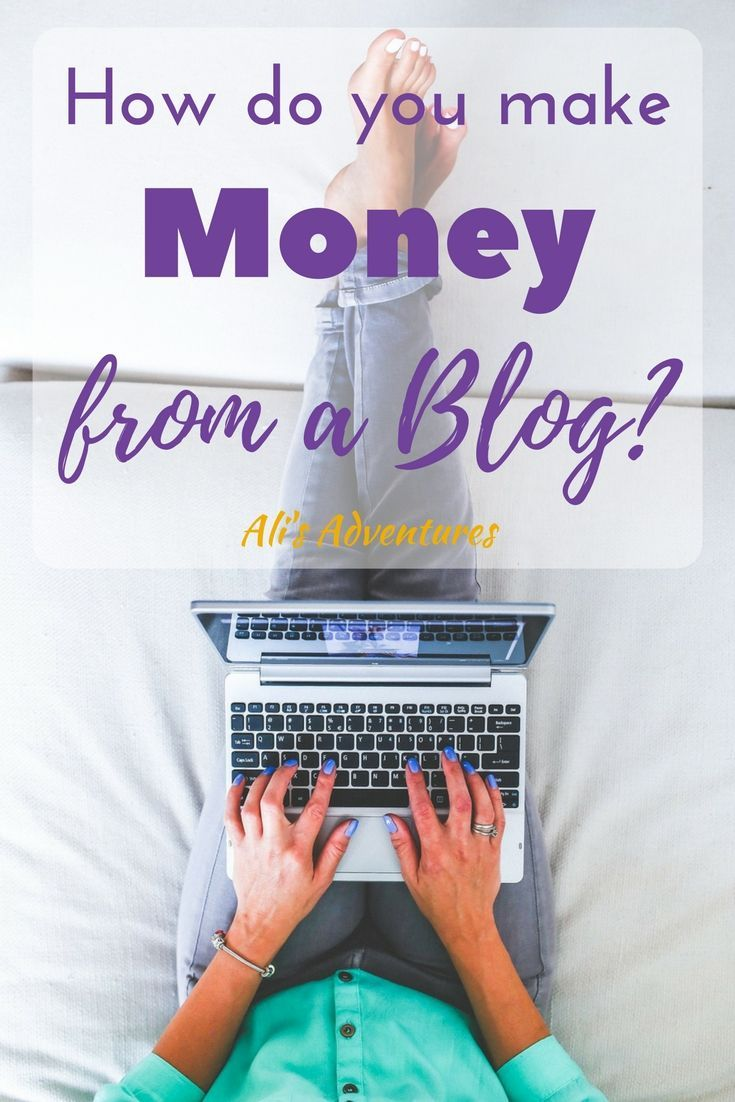 How do you make money from a blog? It's a question I get often. There are many ways to make money from blogging and have the flexibility to do what you love.
