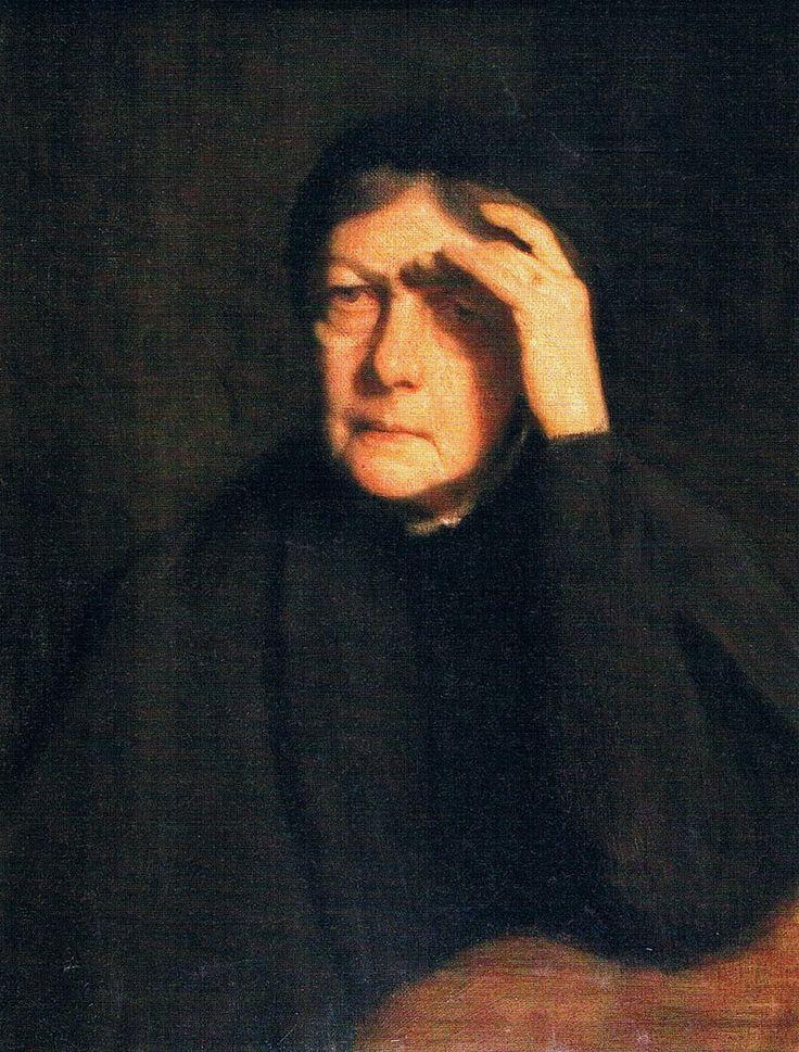 Portrait of the Artist's Mother 1900 Jozef Pankiewicz