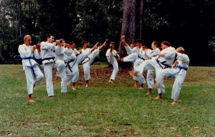 Training Coffs Botanic Gardens about 1993