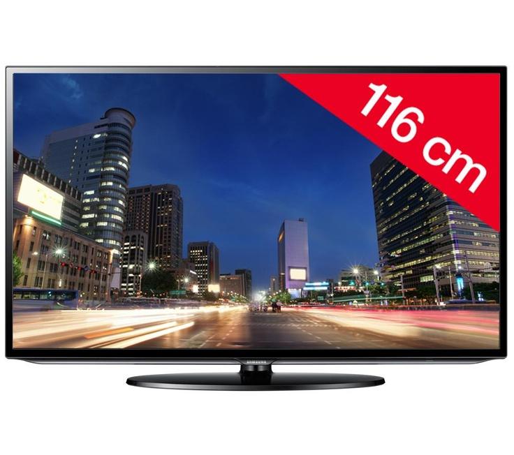 + Téléviseur LED UE46EH5000 + Support mural fixe noir | Pixmania - BARGAIN!!!
