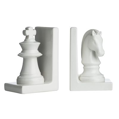 dwell - Chess bookend set - £24.95