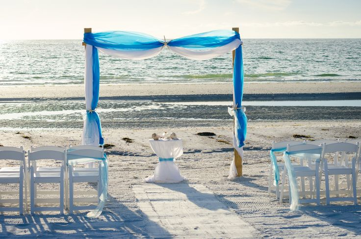 Our Breeze Package is simple, but perfectly elegant for small weddings on the beach.