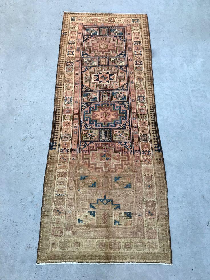 "Persian rug 3'9"" x 9'10"" by Loom + Kiln"