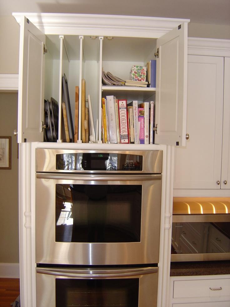 9 best images about kitchen ideas on pinterest kitchen for Above kitchen cabinet storage ideas