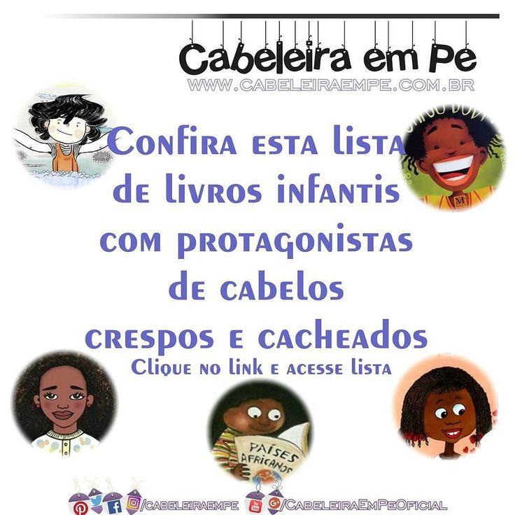 Confira no http://ift.tt/297O4s1 uma lista de livros infantis com protagonistas crespas ou cacheadas e os dilemas vividos com suas cabeleiras. Acesse!  #cabeleiraempe #representatividadeimportasim #criancacacheada #criancacrespa #livroinfantil #educacao #educacaoinclusiva #inclusao #professora #educacaoinfantil #rizos #blackpower #empoderada #crespodivino #afro #encrespa #meninasblackpower #afropower #amomeucrespo #encrespando #cachearporamor #cachosbr #cachosdivos #cachospoderosos…