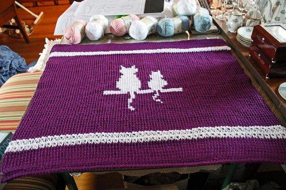 Pet Blanket Cat Blanket Dog Blanket Any Pet by ADKArtsBoutique