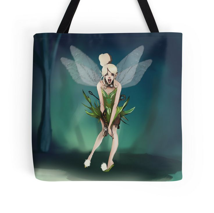 steampunk tink tote bag