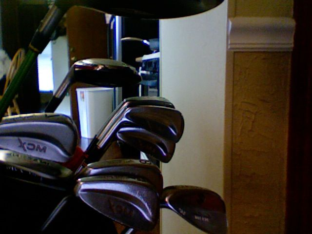 Complete golf set in Cool's Garage Sale in Keller , TX for $200. complete golf set8 irons1 driver1 hybrid1 putter1 wedge1 towel1 nike carry baggolf balls     I have other by them self clubs as well   email me with questions
