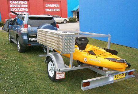 23 besten kayak trailer bilder auf pinterest kayak for Fishing equipment for sale on craigslist
