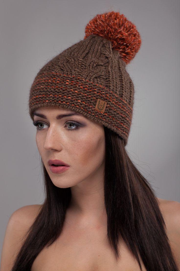Ulter czapki - Model 15 #ulter #caps #woll #winter #inspiration #fashion