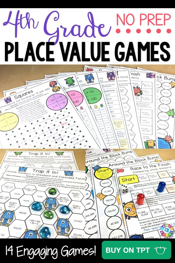 Math and reading games for 4th grade Useful