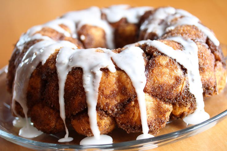 Monkey Bread: Bollekake med sukker og kanel