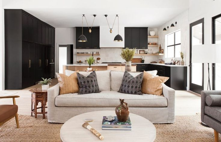Living Room Design in Neutral Colours | Wohnzimmer ideen ...