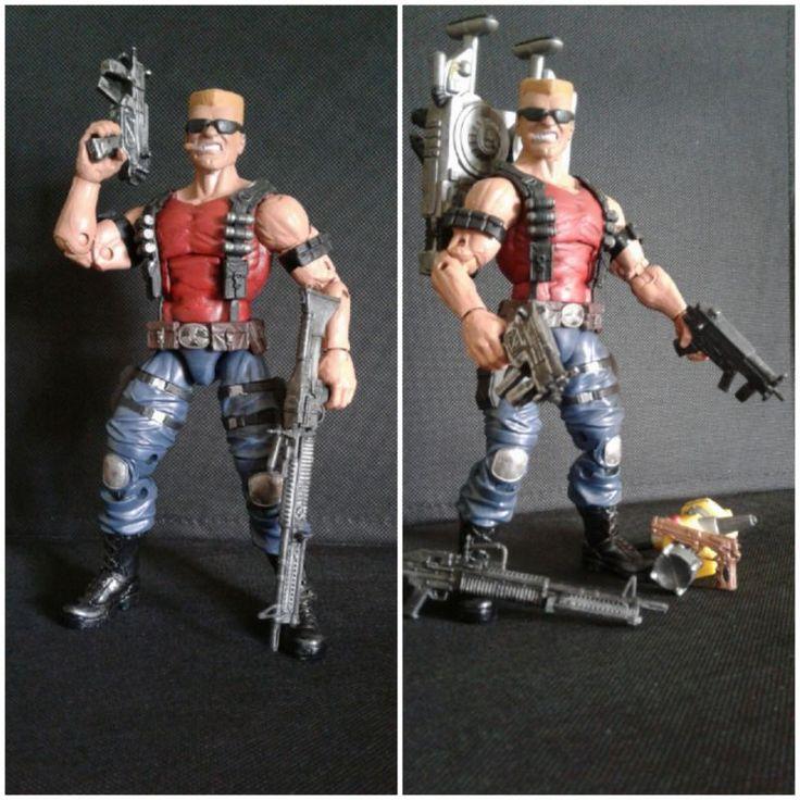 Duke Nukem (Duke Nukem) Custom Action Figure