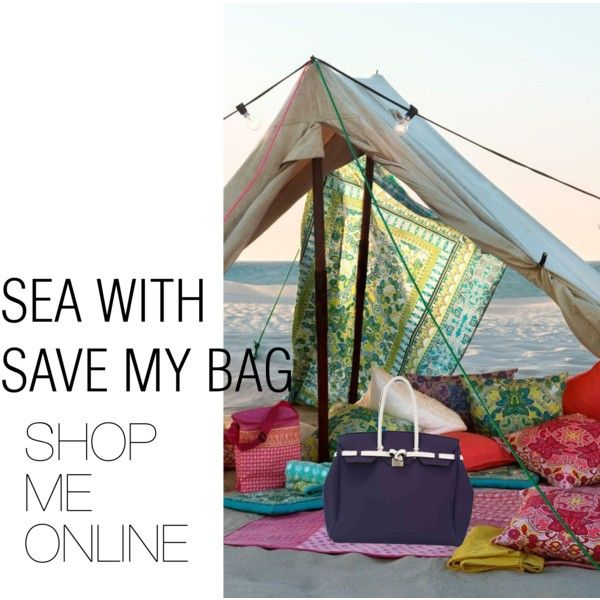 """""""SEA - WEEKENDER COSMO WHITE"""" by savemybag on Polyvore"""