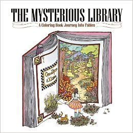 The Mysterious Library A Coloring Book Journey Into Fables Amazonde Eunji