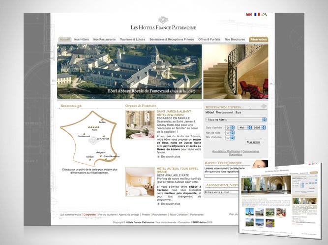 Hôtels France Patrimoine