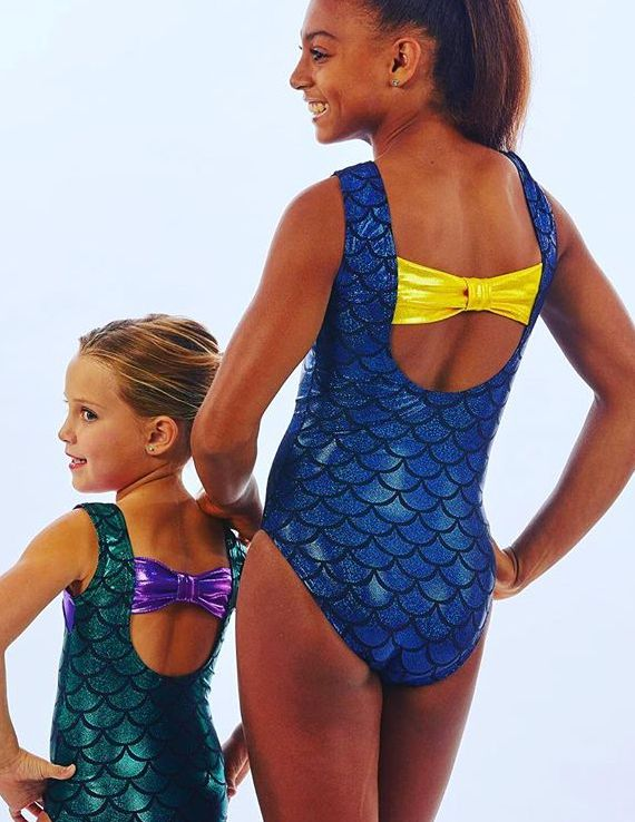e46ce0bb0 Choose your favorite  lizatards mermaid leotard in purple with green ...
