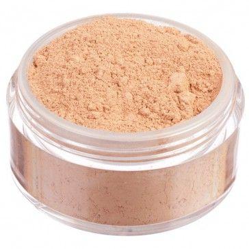 Fondotinta in polvere libera 100% minerale, nuova formulazione High Coverage ad alta coprenza. Tonalità scura dal sottotono neutro.