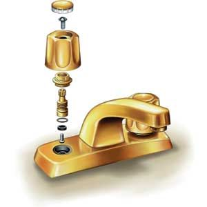 Paul Perreault | thisoldhouse.com | from Fixing a Leaky Faucet faucet repair ? you can call Leinbach Services