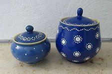Keramik Bürgel Deckeldosen 2 Stück
