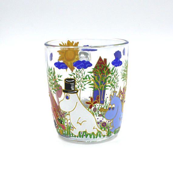 Family Moomins Mug Hand Painted Gift Coffee Tea Handmade