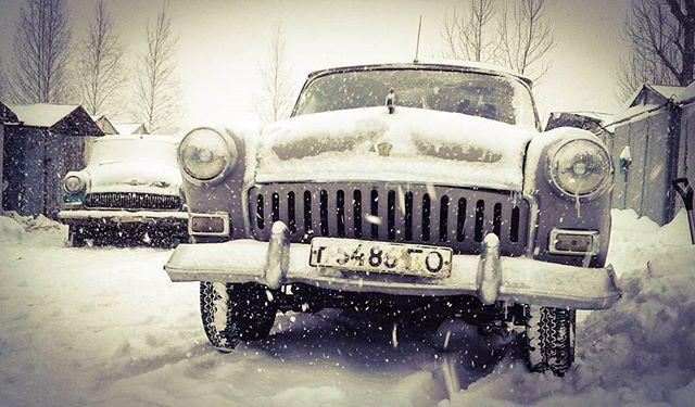 Морозы крепчают, машины всё больше утопают в снегу.  Еще один снежный волгодень Вам в ленту! Живая двойка и умершая экспортная тройка из Корелии. #ретро #газ #21 #волга #газ21 #21волга #газ21волга #retro #gaz #volga #gaz21 #21volga #горький #ussr #ссср #partsfromussr #soviet #gorky #gorkyclassic #ретроавто #retrocar #советскаяклассика #снег #зима #winter #snow #spb #спб #питер #piter