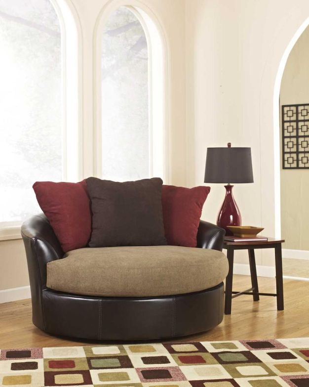 Oversized Swivel Accent Chair From Billmans Home Decor
