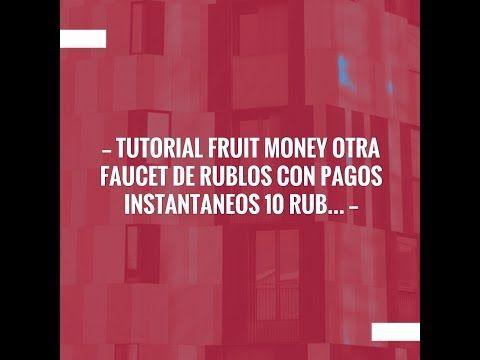 Take a breather and catch up with my video💥 Tutorial Fruit Money otra faucet de rublos con pagos instantaneos 10 Rublos por tu registro https://youtube.com/watch?v=ofq5D_lSVFE
