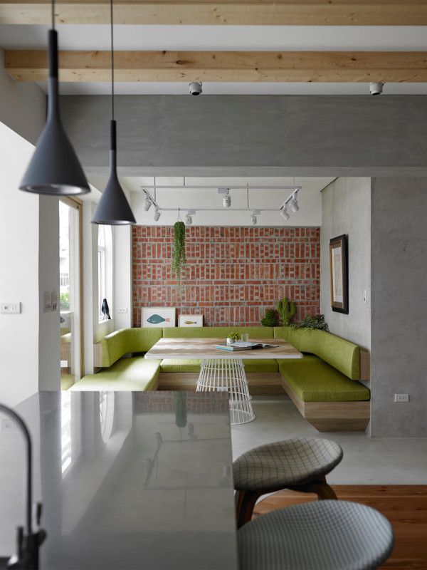 Apartment T designed by KC design studio