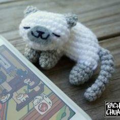 amigurumi schema uncinetto gatto maglia giocattoli