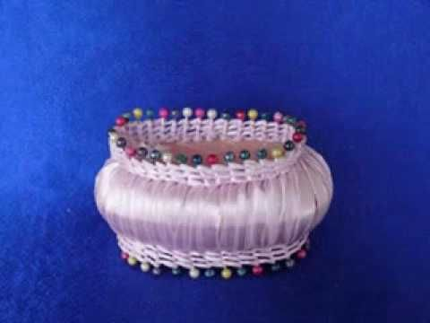 Корзина из мыло / A Flower Basket of Soap - YouTube