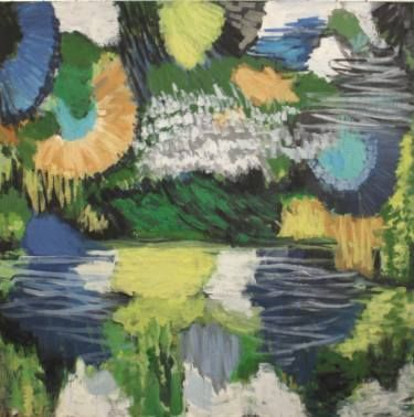 "Saatchi Art Artist Kjetil Jul; Painting, ""Nature No. 2"" #art"