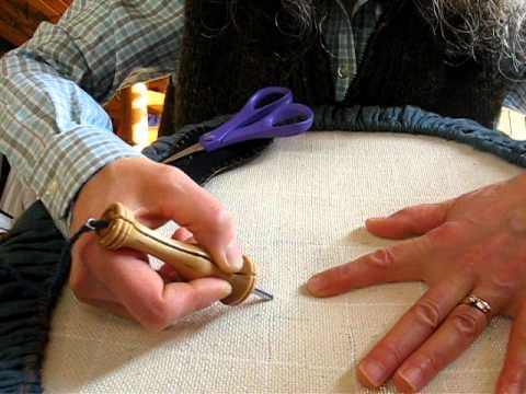 How to Use an Oxford Punch Needle video