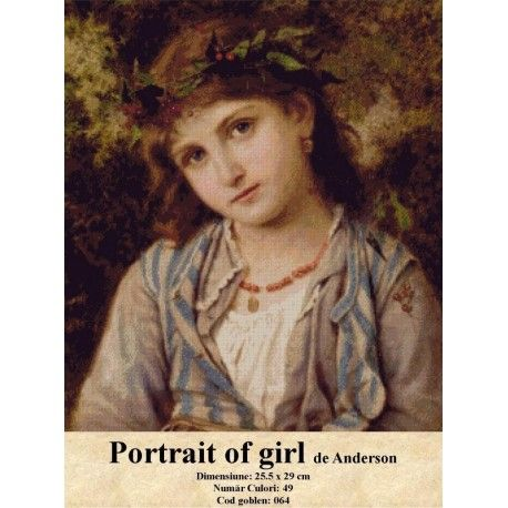 Vanzare set goblen Portrait of girl de Anderson http://set-goblen.ro/portrete/3714-portrait-of-girl-de-anderson.html