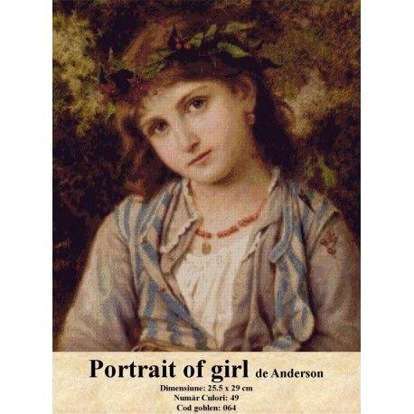 Vanzare set goblen Portrait of girl de Anderson http://set-goblen.ro/portrete/3714-portrait-of-girl-de-anderson.html