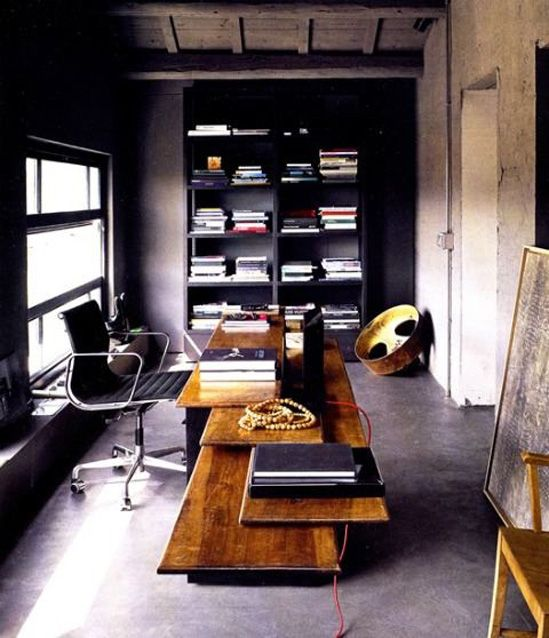 technically not a man cave but the minimalist look could easily be adapted into a man space.