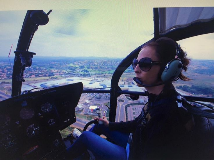Ade pilot and ironwomen!
