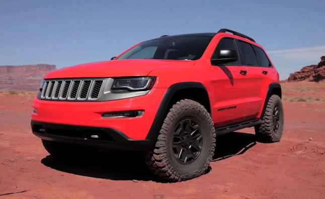 Jeep Grand Cherokee Trailhawk II Concept Video, First Look. For more, click http://www.autoguide.com/auto-news/2013/03/jeep-grand-cherokee-trailhawk-ii-concept-video-first-look.html