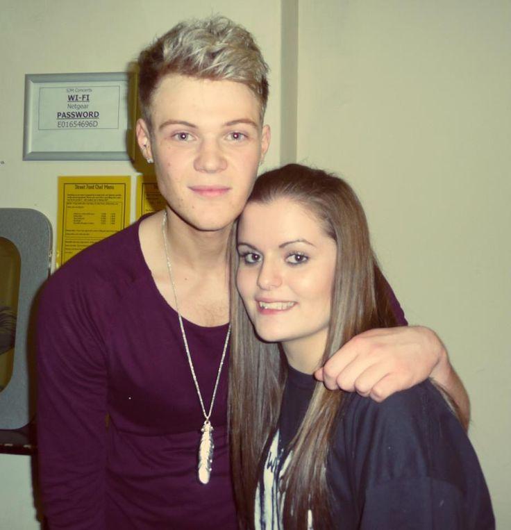 Ryan Fletcher, backstage at Sheffield!