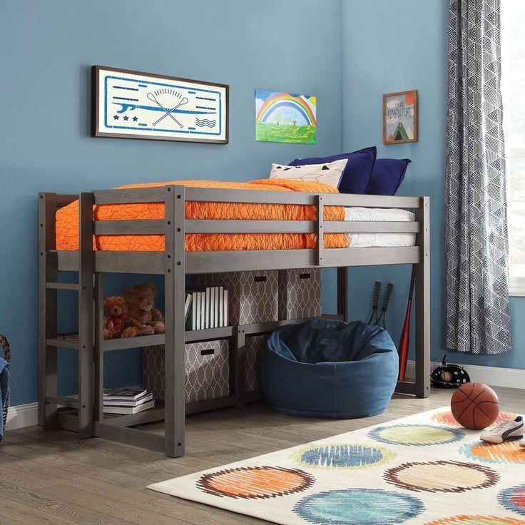 2a50a211101ea0050e3b83f3cb025fa1 - Better Homes & Gardens Loft Bed With Spacious Storage Shelves