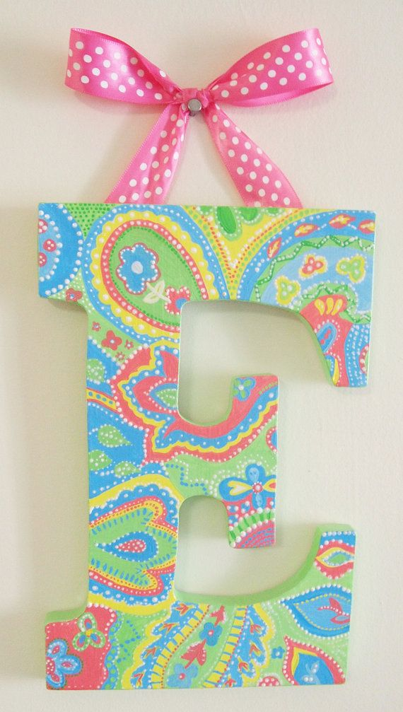 Set of 3 Custom Sorority Letters by lnvanors on Etsy, $40.00