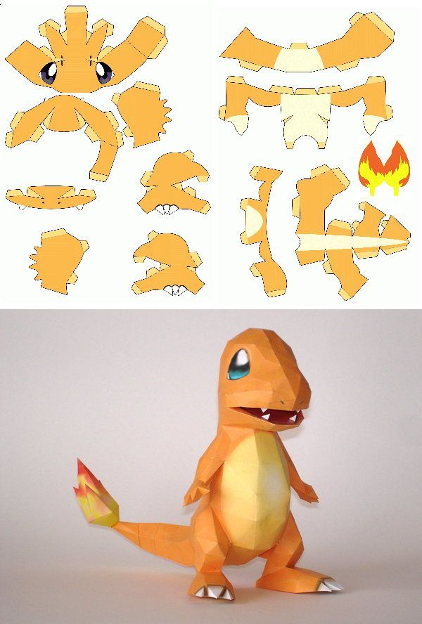 papercraft pokemon – Recherche Google (Diy Art Paper