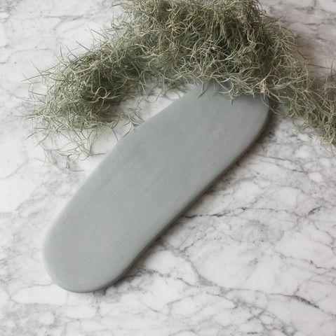 grey resin cheese board